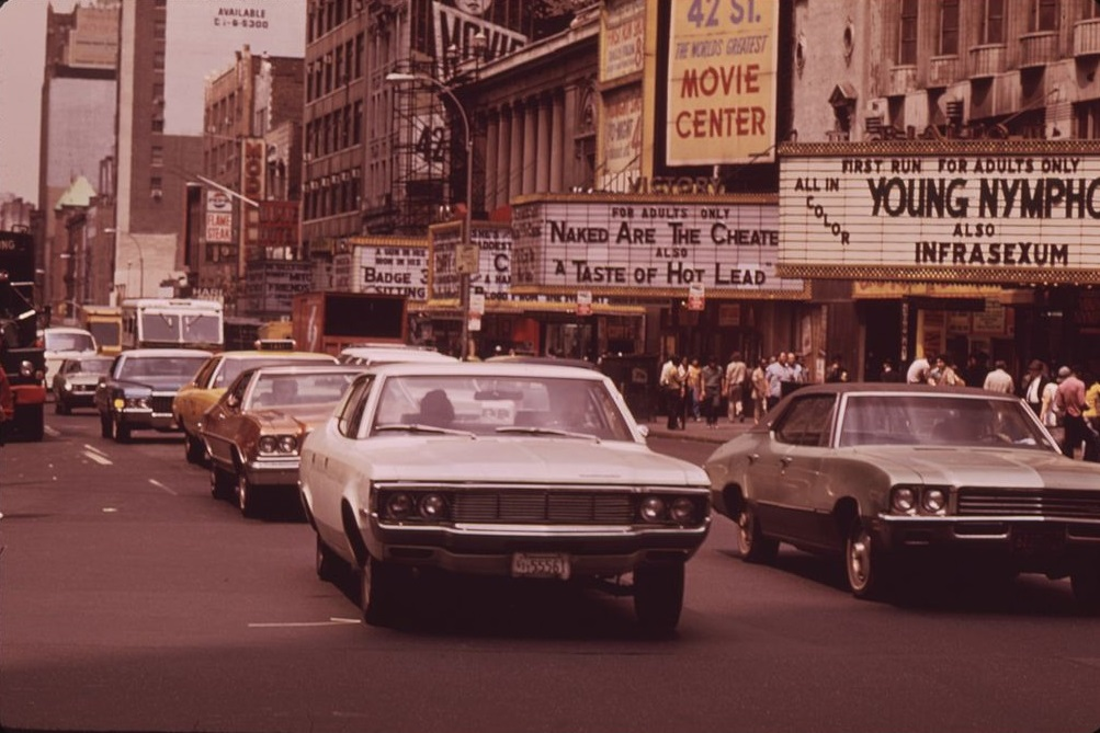 New Yor, 1973 (Bild: Dan McCoy, PD, via wikimedia commons)