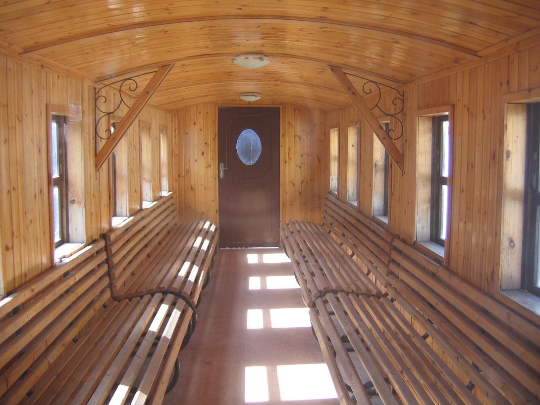 Die Holzklasse gibt es auch in der Hedschasbahn in Jordanien ... (Bild: Reinhard Dietrich, CC BY SA 3.0)