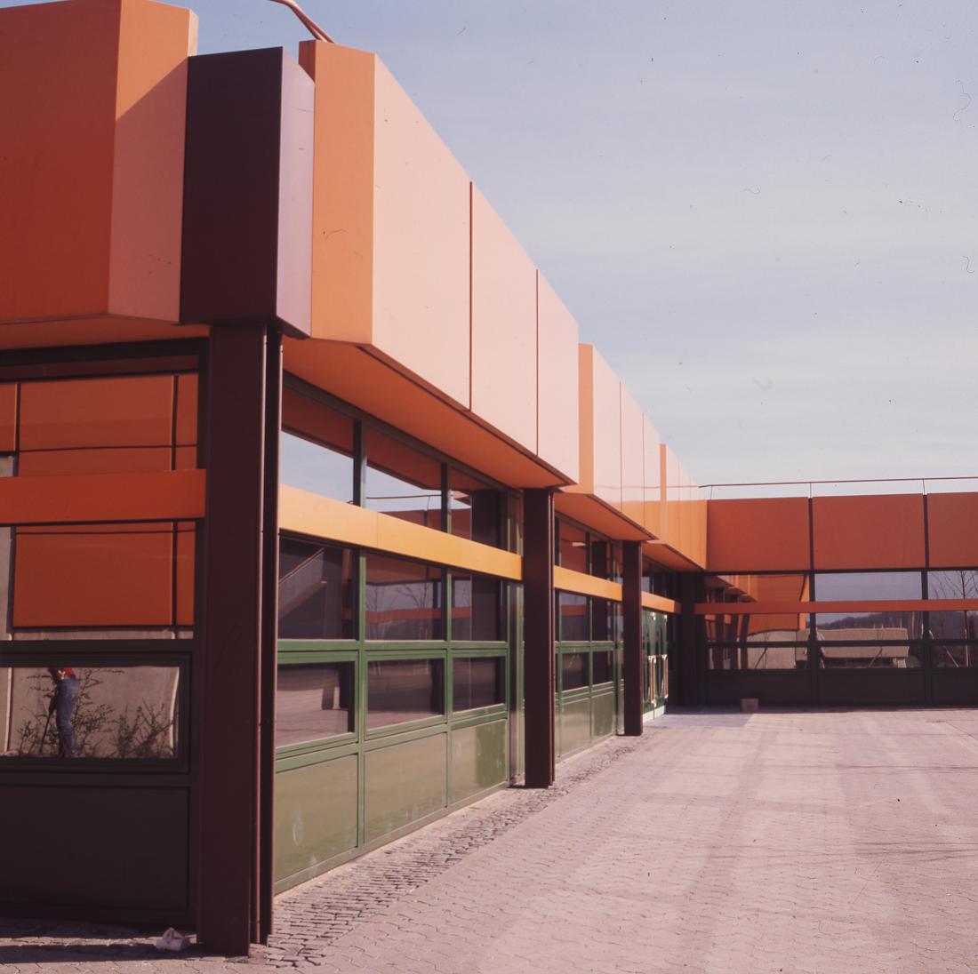 Braunschweig, IGS West (Architekten PJS, 1971–1975) (Bild: SAIB G124)