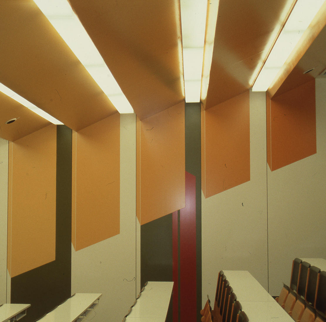 Königslutter, Schulzentrum, Lehrraum (Architekten PJS, 1971–1977) (Bild: SAIB G124)