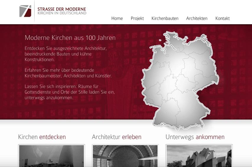 5_Strasse der Moderne, Homepage