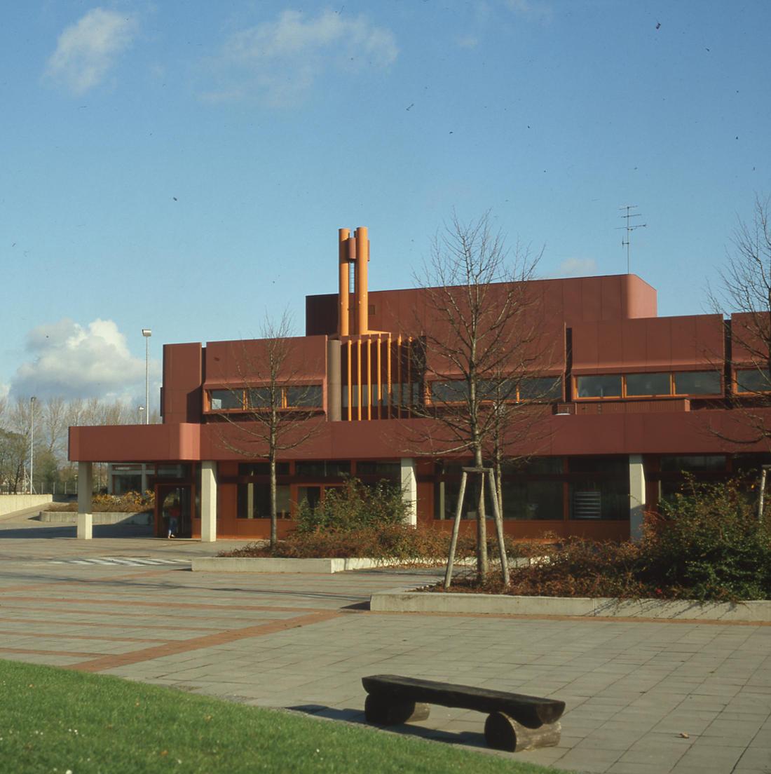 Königslutter, Schulzentrum (Architekten PJS, 1971–1977) (Bild: SAIB G124)
