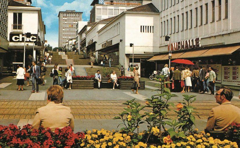 Kassel, Treppenstraße (Bild: historische Postkarte, Bild-Druck & Verlag GmbH, Lübeck)