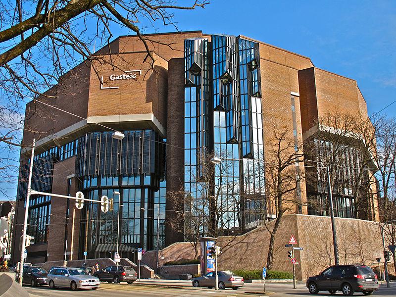 München, Gasteig, Philharmonie (Bild: Schlaier, CC BY SA 3.0)