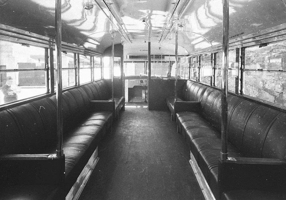 Die australischen Stadtbusse setzten in den 40ern auf Komfort und klare Linien (Bild: PD)