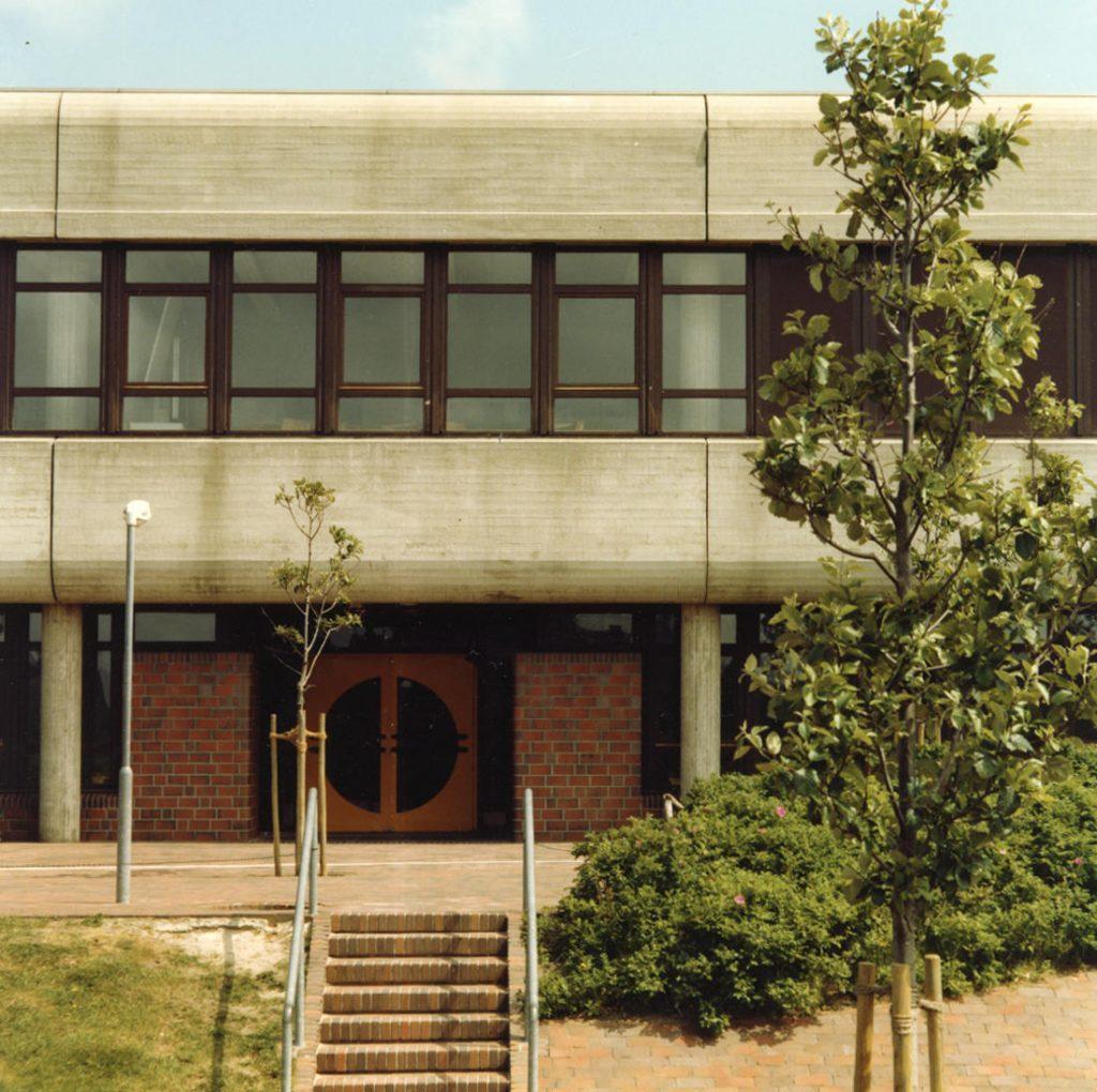 Sylt, Westerland, Schulzentrum (Architekten PJS, 1973-1982) (Bild: SAIB, Nachlass PSG)
