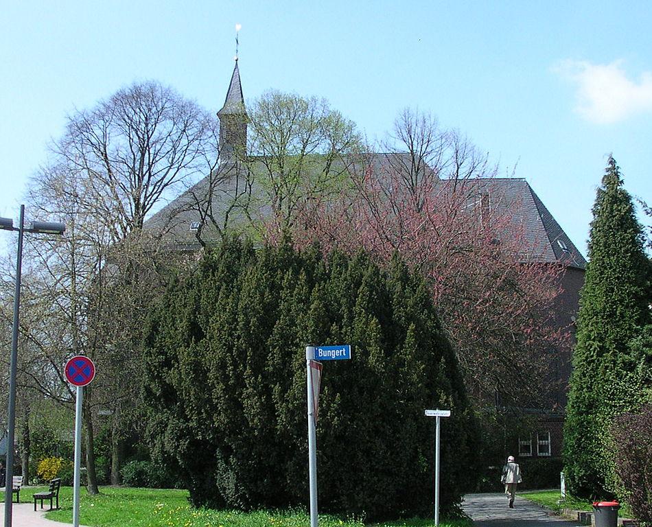 Aachen-Rothe Erde, St. Barbara (Bild: Norbert Schnitzler, GFDL oder CC BY SA 3.0, 2006)