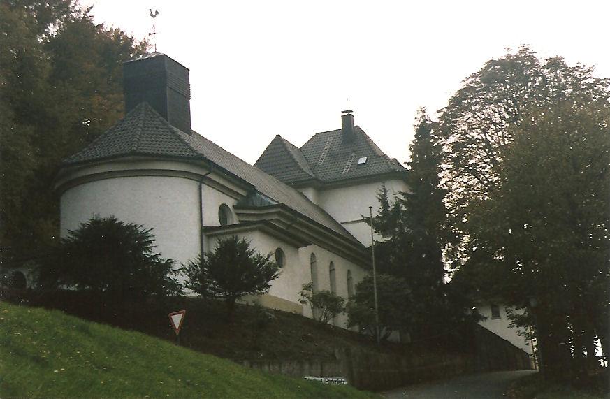 Altena-Mühlenrahmede, St. Paulus (Bild: L. Teschner, CC BY SA 3.0, wohl 1994)