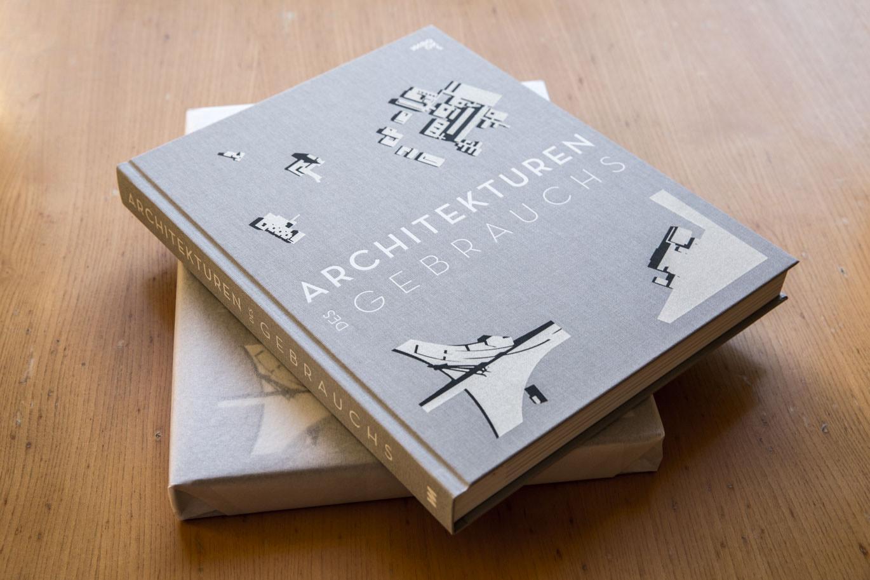 """""""Architekturen des Gebrauchs"""" (Bild: Buchcover, D. und C. Falbe)"""