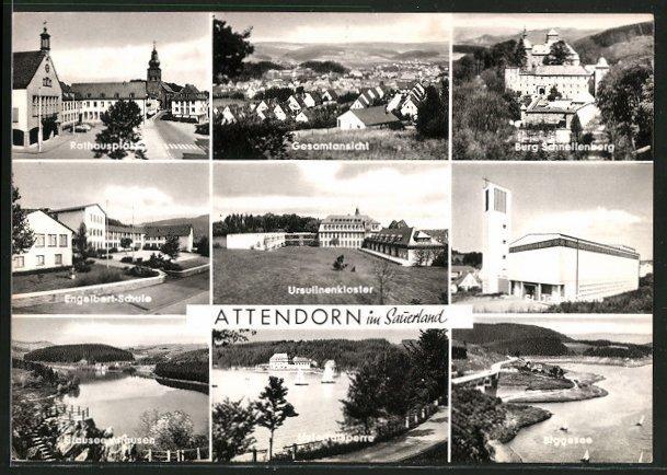 Attendorn (Bild: hist. Postkarte)
