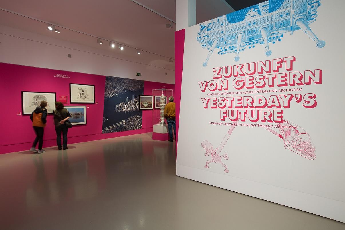 """""""Zukunft von gestern"""" - Visionäre Entwürfe von Future Systems und Archigram (Bild: Fritz Philipp)"""