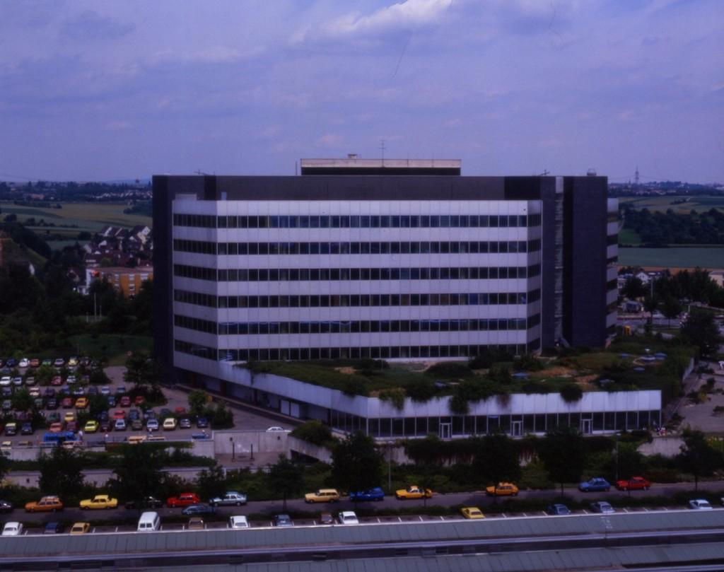 Ansicht von Süden (Bild: Deutsche Rentenversicherung Baden-Württemberg, W. Trepl, um 1980)