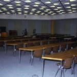 Versammlungsraum der Vertreterversammlung/Großer Saal (Raum 1) (Bild: Deutsche Rentenversicherung Baden-Württemberg, W. Trepl, um 1980)