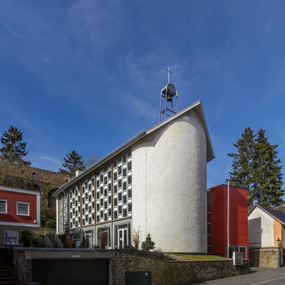 Bad Münstereifel, Ev. Kirche (Bild: © Raimond Spekking, CC BY-SA 4.0, via Wikimedia Commons, 2015)