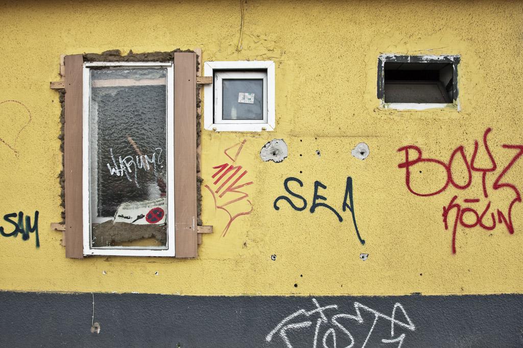 Köln, Abrissarbeiten im Barmer Viertel (Bild: Martin Junius, CC BY NC ND 3.0, 2008)