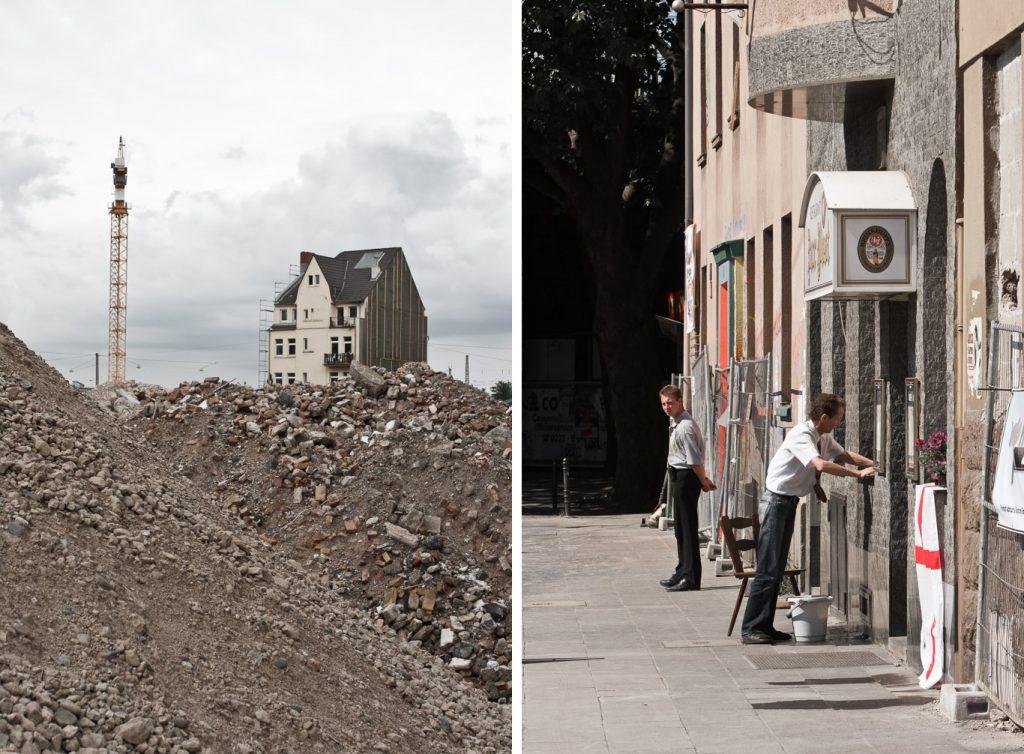 Köln, Abrissarbeiten im Barmer Viertel (Bild: Martin Junius, CC BY NC ND 3.0, 2006-08)