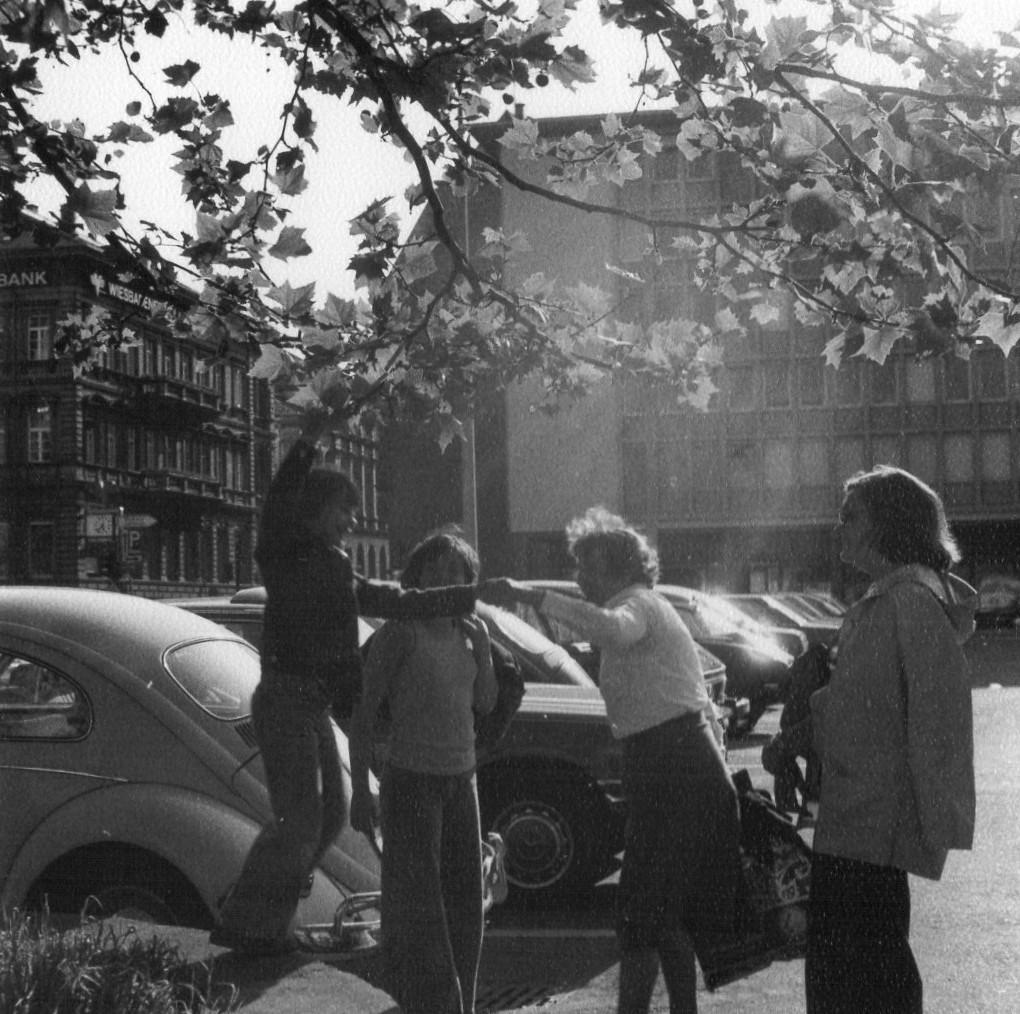 Wiesbaden, Dernsches Gelände, Einkaufsbummel im Jahr 1978 (Bild: privat)