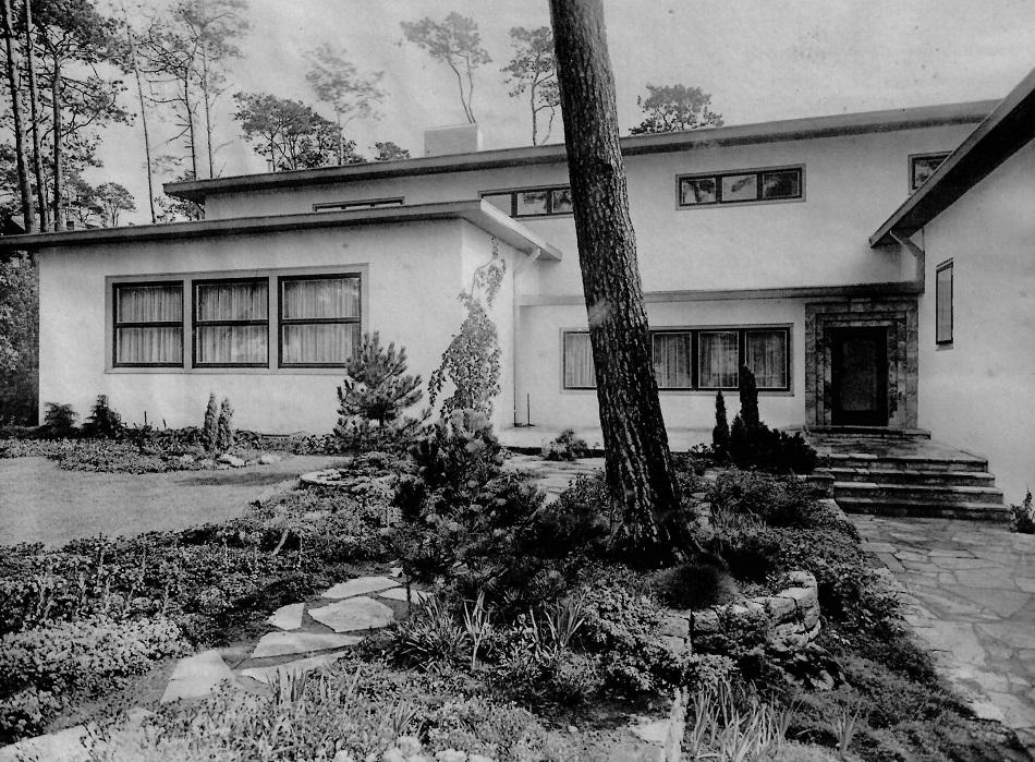 Berlin, Villa Poelzig (Bild: Bauwelt 21, 1930, 34)