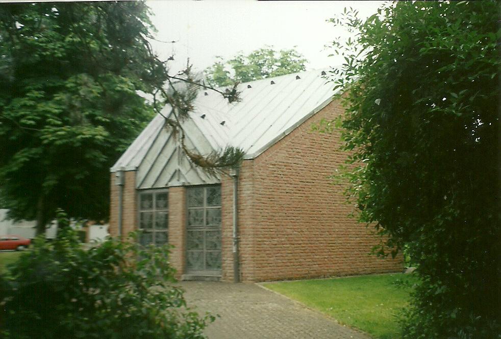 Bedburg-Neu-Buchholz, Kapelle, Nachfolgebau in Neu-Buchholz, (BIld: Heinz Rade, CC BY SA 3.0, 2009)