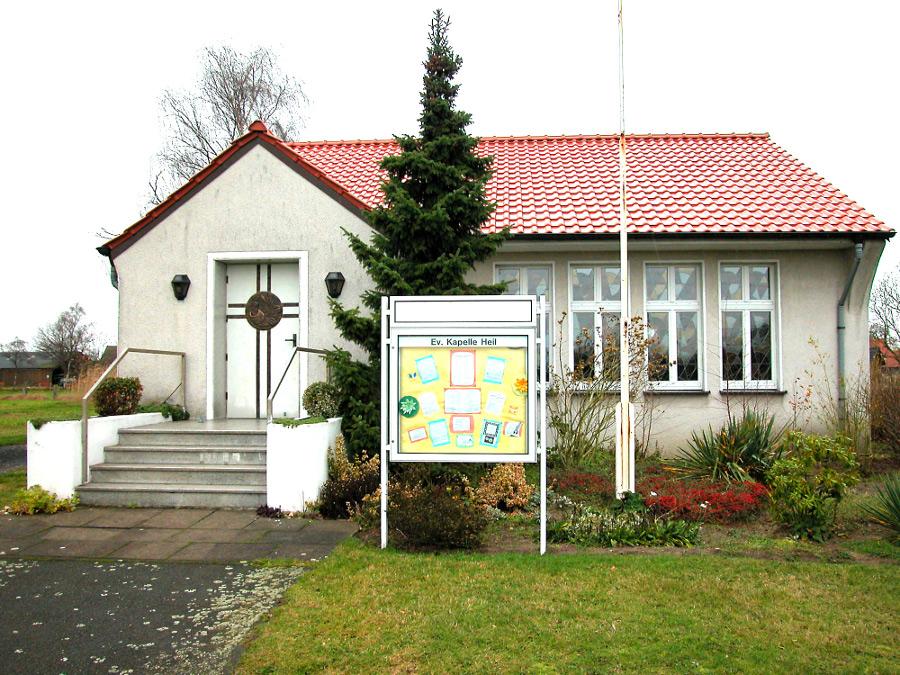 Bergkamen-Heil, Kapelle (Bild: Velopilger, PD, 2009)