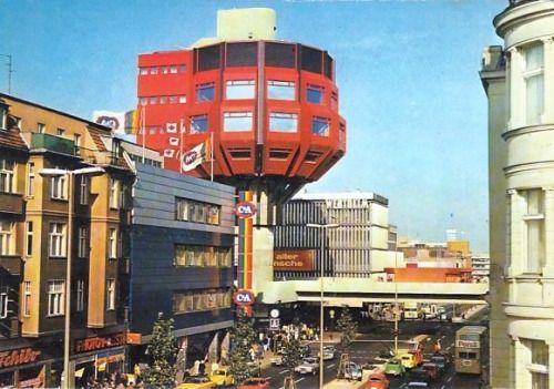 Berlin, Bierpinsel, Postkarte um1977, Copyright BVG