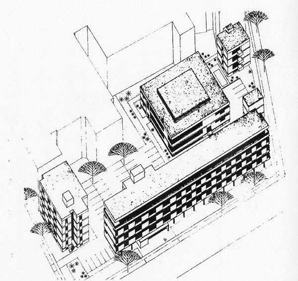 Berlin-Charlottenburg, Haus der Kirche (Bildquelle: Detail 1972, 5)