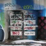 Dicht: Berlin, Eingang Bierpinsel, 2014 (Bild: Alexander Savin, CC BY SA 3.0)