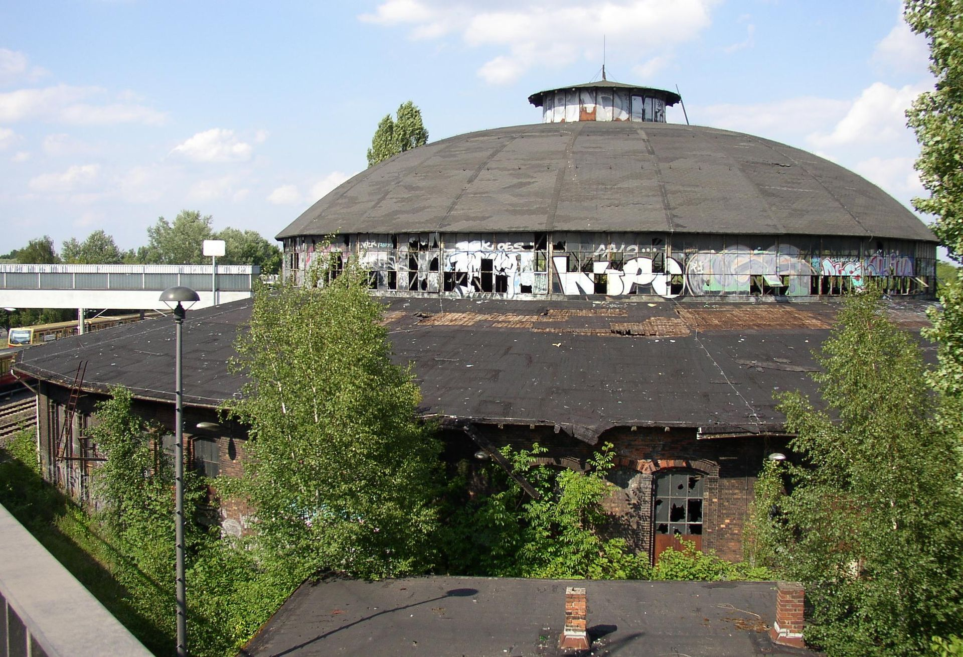 Berlin-Pankow, Rundlokschuppen, Bild: Doris Antony, CC-BY-SA 3.0