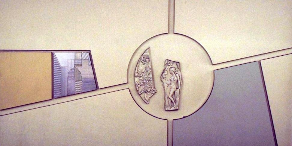 """Berlin, U-Bahnhof """"Märkisches Museum"""" (Bild: joerkeskulptur.de)"""