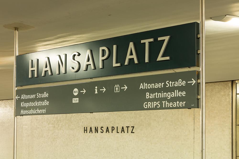 """Berlin, U-Bahnhof """"Hansaplatz"""" (Bild: Sven Heinrichs)"""