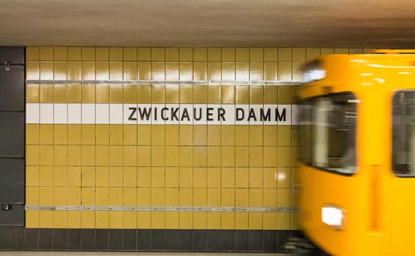 """Berlin, U-Bahnstation """"Zwickauer Damm"""" (Bild: Sven Heinrichs)"""