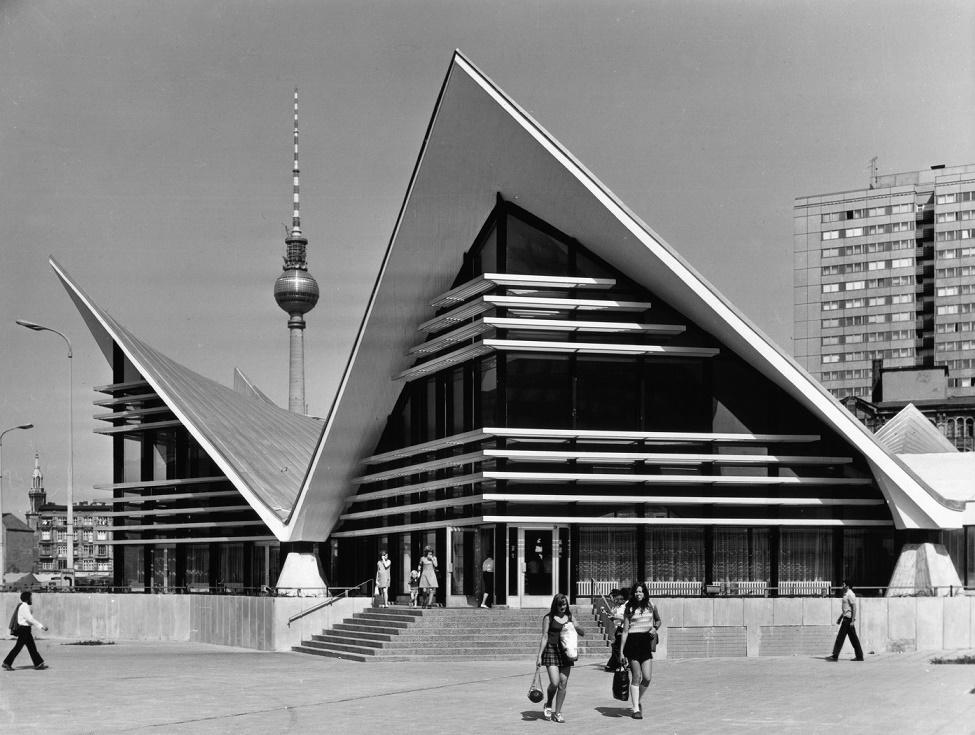 Berlin, Ahornblatt (Bild: Müther-Archiv)