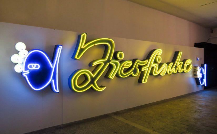"""Berlin, Buchstabenmuseum, """"Die Zierfische"""" (Bild: Martin Maleschka)"""