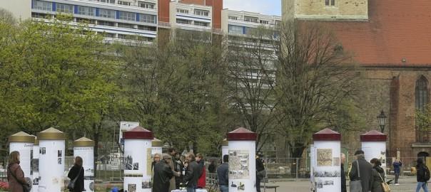 Berlin, Eröffnung der Open-Air-Ausstellung (Bild: Buergerforum Berlin Mitte e. V.)