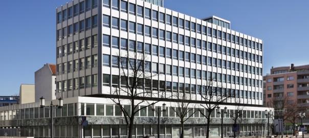 Na also, geht doch: Der einstige Sitz der Gerling-Versicherung wurde saniert und ernergetisch ertüchtigt - denkmalgerecht! (Bild: Numrich Albrecht Klumpp Architekten)