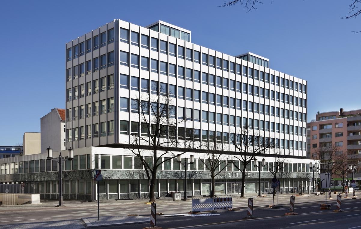 Na also, geht doch: Der einstige Sitz der Gerling-Versicherung wurde saniert und ernergetisch ertichtigt - denkmalgerecht! (Bild: Numrich Albrecht Klumpp Architekten)