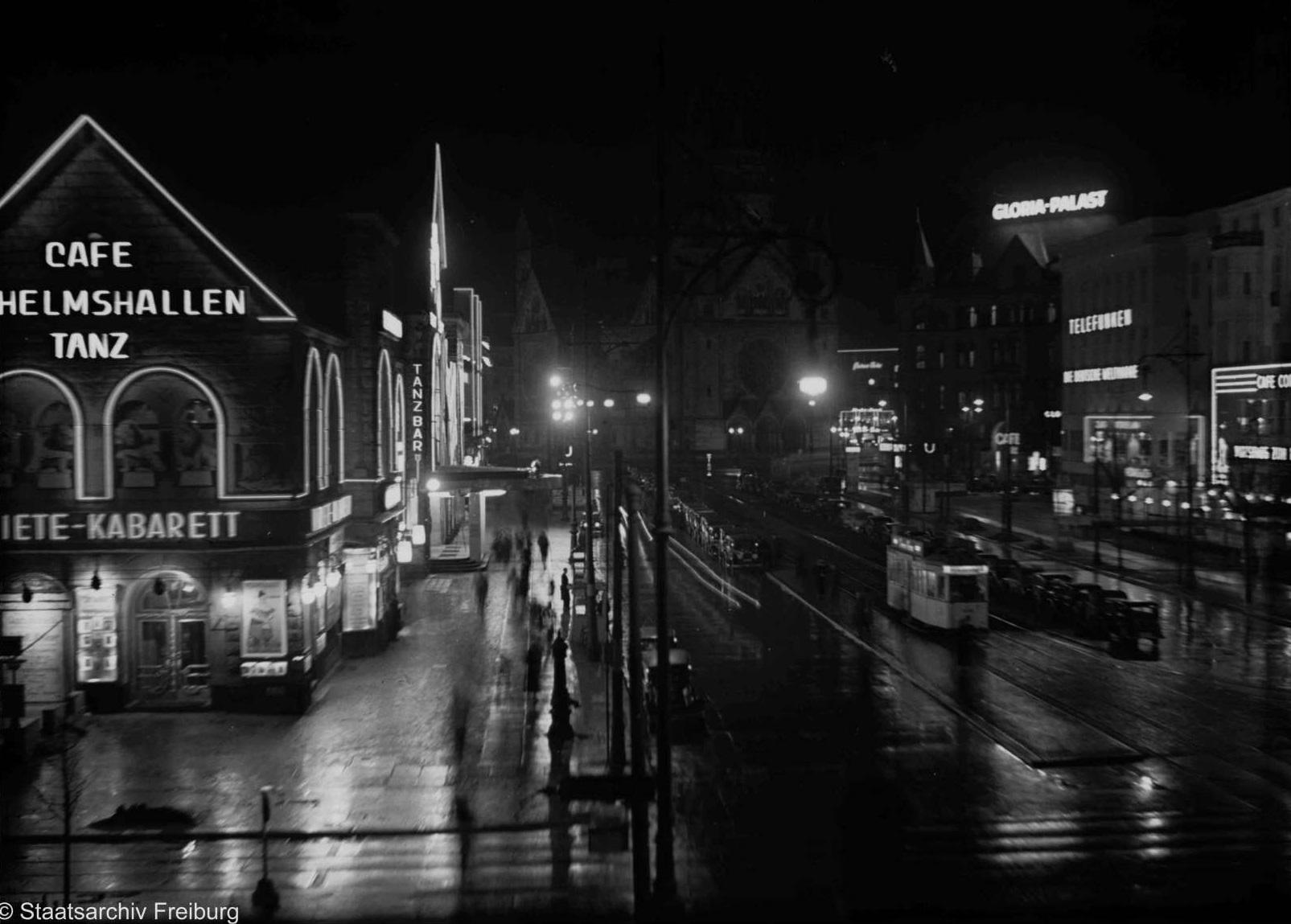 Berlin, Hardenbergstraße, 1936 (Bild: Deutsche Digitale Bibliothek, Willy Pragher, CC BY 3.0)