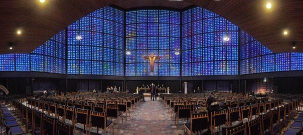 Berlin, Kaiser-Wilhelm-Gedächtnis-Kirche (Bild: Joe Mabel, GFDL oder CC BY SA 4.0, 2018)