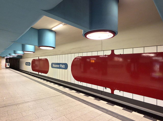 "Berlin, U-Bahnhof ""Nauener Platz"" (Bild: Gunnar Klack, CC BY SA 2.0, via flickr, 2018)"