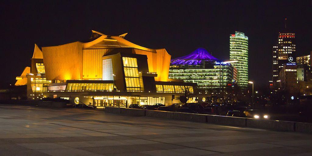 Berlin, Philharmonie (Bild: Pedelecs, via wikivoyage/wikpedia, CC BY SA 3.0, 2012)