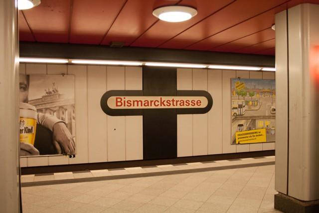 """Berlin, U-Bahnhof """"Bismarckstraße"""" (Bild: Kerberos Berlin)"""
