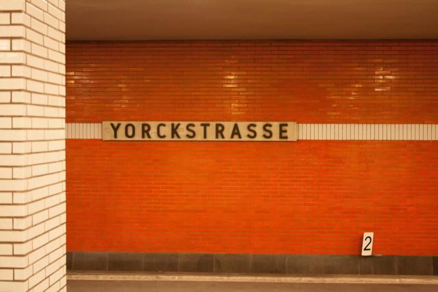 """Berlin, U-Bahnhof """"Yorckstraße"""" (Bild: Kerberos Berlin)"""
