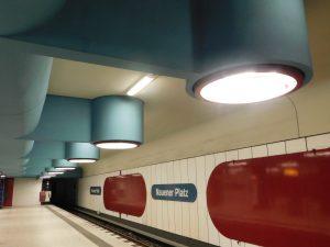 "Berlin, U-Bahnhof ""Nauener Platz"" (Bild: Verena Pfeiffer-Kloss, 2014)"