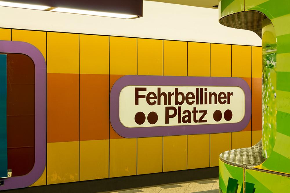 """Berlin, U-Bahnstation """"Fehrbelliner Platz"""" (Bild: Sven Heinrichs)"""