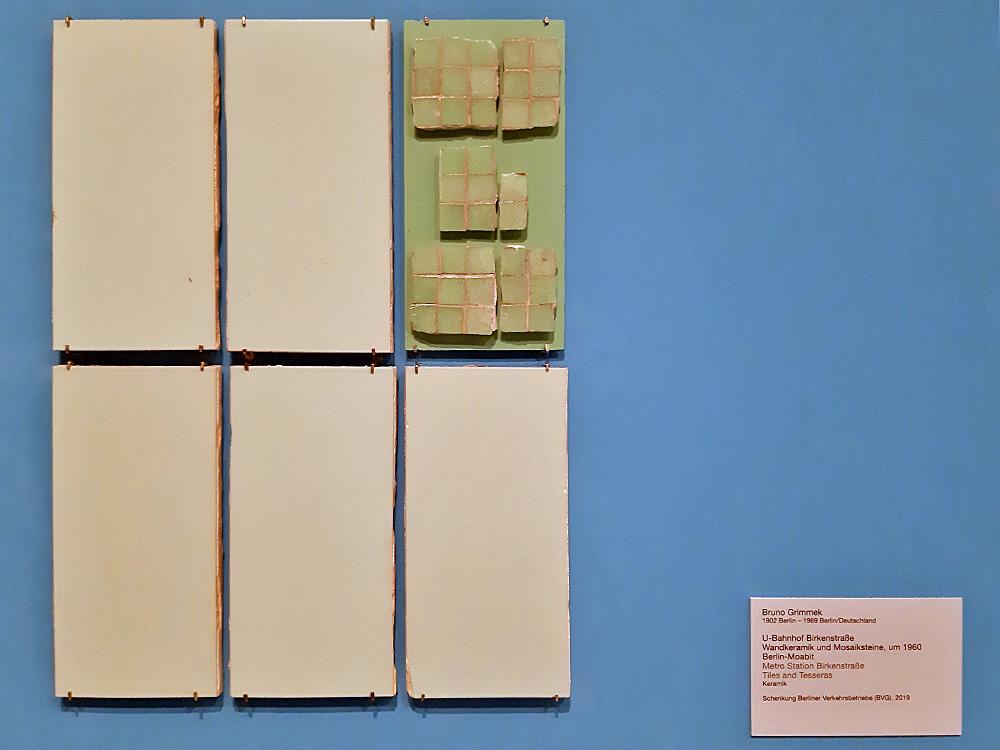 """Ein Blick in die Ausstellungsräume (Bild: Ausstellung """"Underground Architecture"""" in der Berlinischen Galerie, Februar 2019, Karin Berkemann)"""