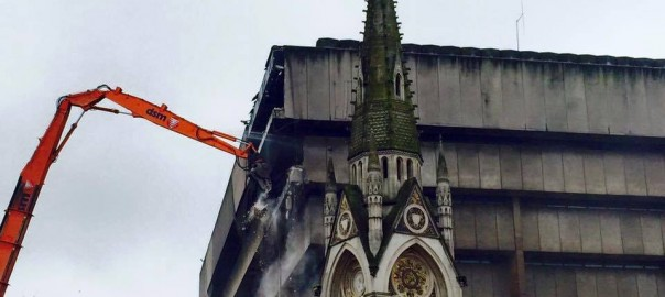 Birmingham, Abriss der Central Libary (Bild: The Brutalism Appreciation Sociaty, Richard says Hello)