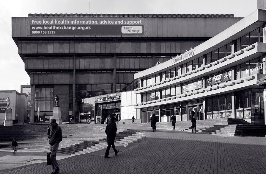 Birmingham Central Library (Bild: tedandjen, CC BY 2.0)