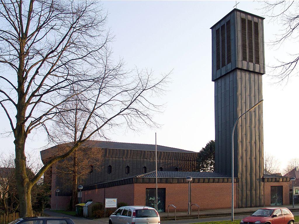 Bochum, St. Joseph (Bild: RaflHuels, GFDL/CC BY SA 3.0, 2009)