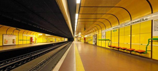 Bonn, U-Bahnstation Heussallee (Bild: Initiative Kerberos, 2017)
