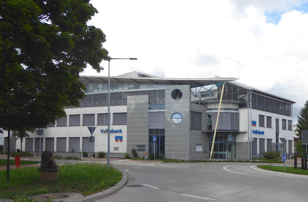 Brackenheim, Volksbank (Bild: Jiří Hönes)
